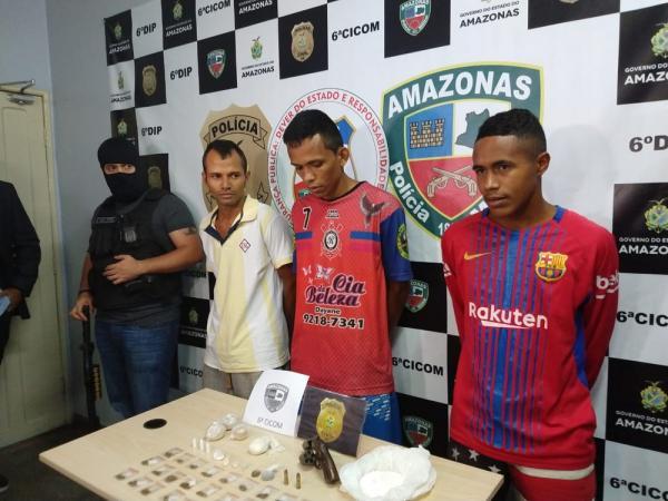 Trio é preso suspeito de tentativa de homicídio por dívida de R$ 800, no AM