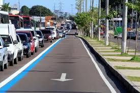 Retorno de fiscalização da faixa azul em Manaus é adiada e circulação segue liberada