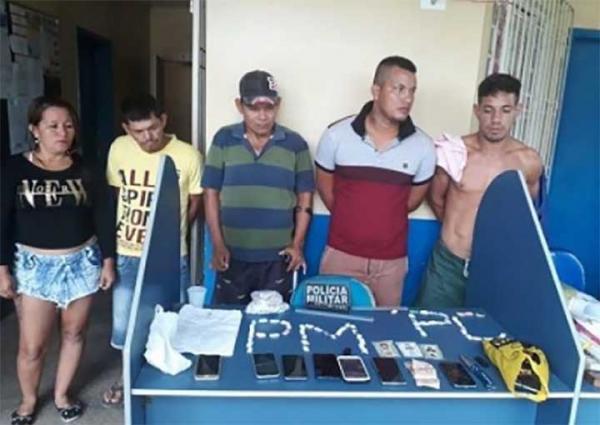 Ação conjunta das polícias Civil e Militar cumpre mandados de prisão e busca e apreensão