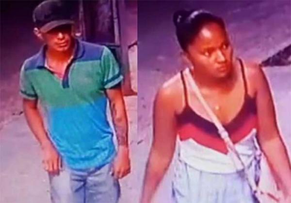 Polícia pede ajuda da população para prender casal que vem praticando assaltos