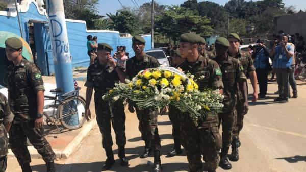 Morre o 3° militar do Exército baleado em operação desde o início da intervenção na segurança do Rio