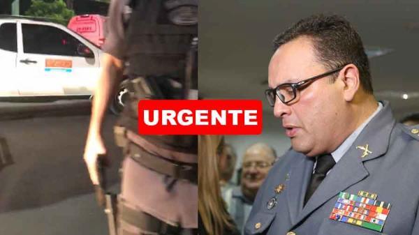 Coronel Walter Cruz se pronuncia sobre agressão sofrida por colaborador do Portal Holofote