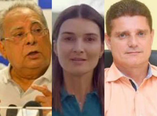 Amazonino, Rebecca e Rotta: investigados por uso de dinheiro público, na eleição