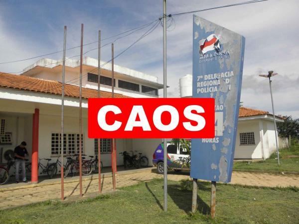No Amazonas, 18 municípios não têm delegados e insegurança toma conta do Estado