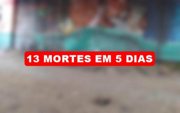 Em cinco dias, Manaus registra treze mortes violentas