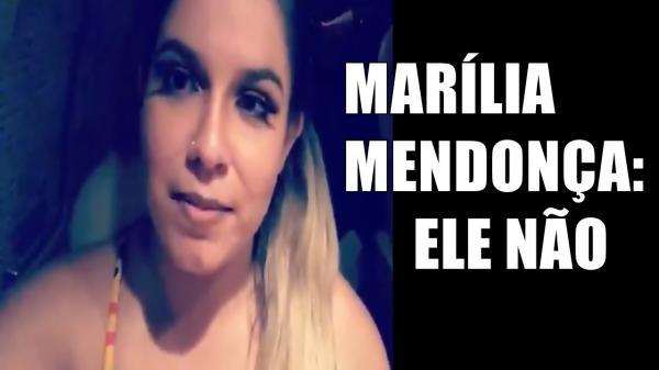 Marília Mendonça relata ameaças e apaga publicação contra Bolsonaro