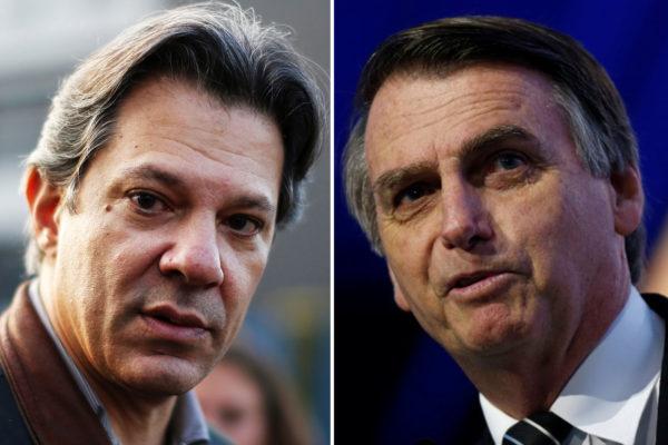 Bolsonaro ataca Haddad: 'Sua hora vai chegar, marmita de corrupto preso'