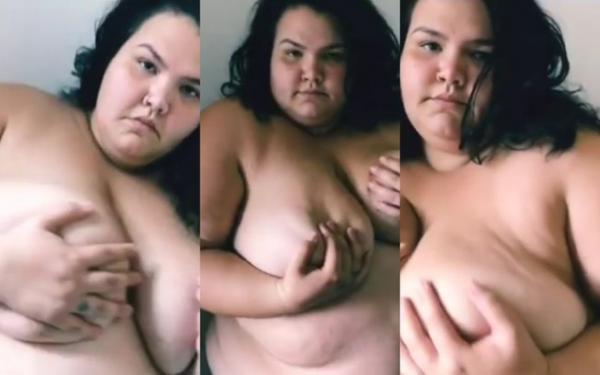 Thais Carla publica vídeo nua tocando o próprio corpo e é criticada