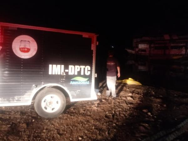 Após dois dias desaparecido, corpo de trabalhador da Marina é encontrado boiando no Rio Negro em Manaus