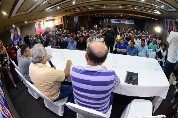 58 prefeitos declaram apoio a Amazonino