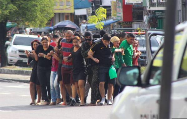 Único homem preso após assalto a casa lotérica em Manaus era foragido da Justiça, diz TJAM