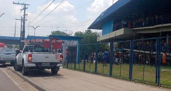 Homem é eletrocutado no Terminal 5 e segue internado no 28 de Agosto