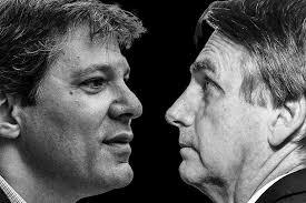 'Guerra' no Twitter: Bolsonaro e Haddad discutem em rede social