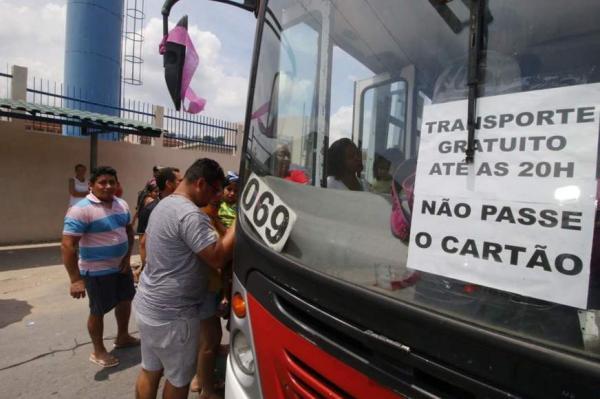 Ônibus serão gratuitos em Manaus também no segundo turno das eleições