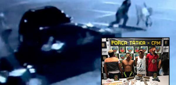Grupo que agrediu e roubou o carro de grávida é preso em Manaus
