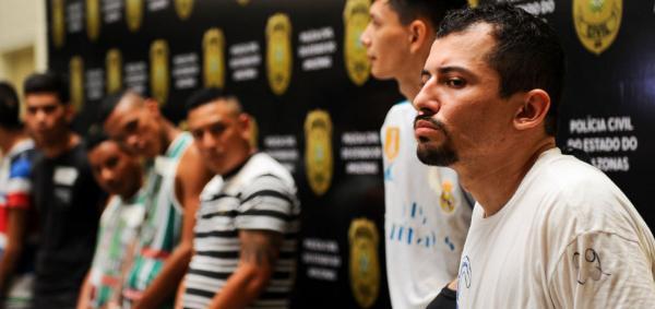 'Anjinho do PCC' é preso com fuzil, munições e drogas em Manaus
