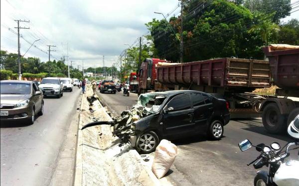 Manaus registra 2,2 mil acidentes de trânsito em 2017, aponta DPVAT
