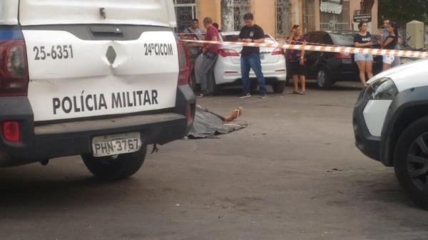 Guardador de carros é morto com mais de 20 tiros em Manaus