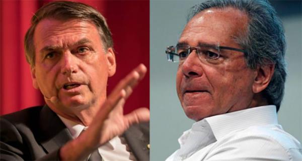 Paulo Guedes contradiz Bolsonaro e diz que governo não irá renegociar dívida
