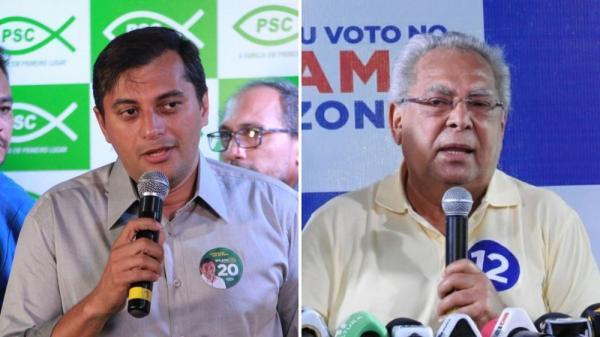 Wilson Lima arrecada R$ 1,6 milhões, e Amazonino, mais de R$ 6 milhões durante campanhas; veja gastos