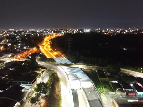 Avenida das Flores, em Manaus, deve ser inaugurada dia 30 de novembro