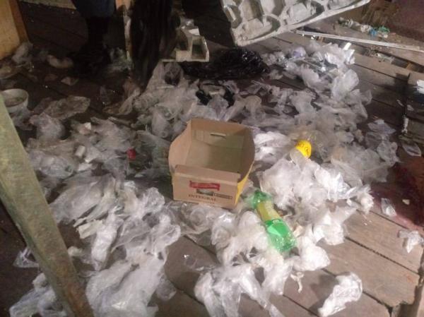 Casa que servia como laboratório de drogas é desarticulada, em Manaus