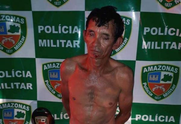 Pintor é preso suspeito de matar a facada encanador no bairro Compensa, em Manaus