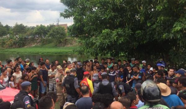 Homem morre após fugir de bandidos e se jogar no 'Piscinão de Ramos'