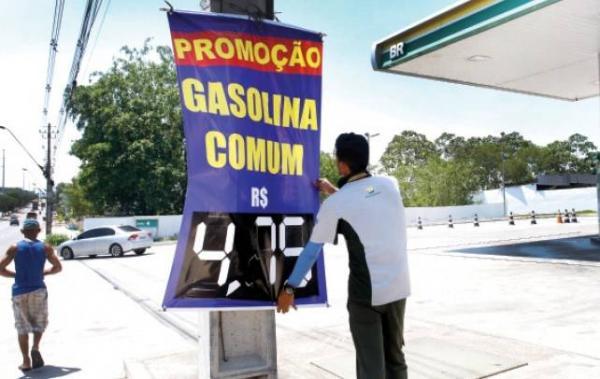 Gasolina já é vendida a R$ 4,75 nas zonas Norte e Leste de Manaus