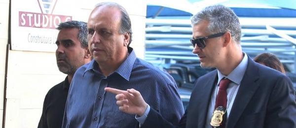 PF prende governador do Rio, Luiz Fernando Pezão