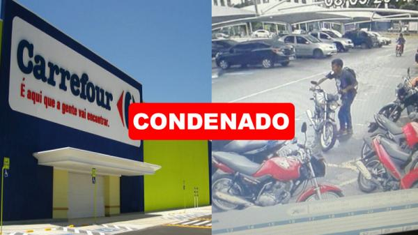 Carrefour é condenado a indenizar cliente que teve moto furtada em Manaus