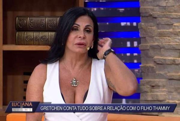 'Thammy Miranda e Andressa Ferreira farão inseminação', diz Gretchen sobre futuro neto