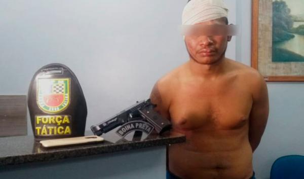 Homem que fez arrastão em praça de alimentação da Cidade Nova é preso