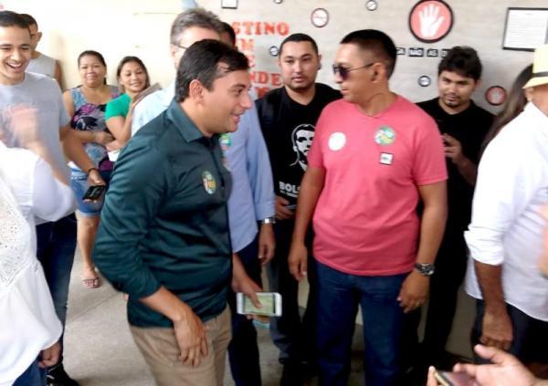 Wilson Lima marca primeiro encontro com prefeitos do estado