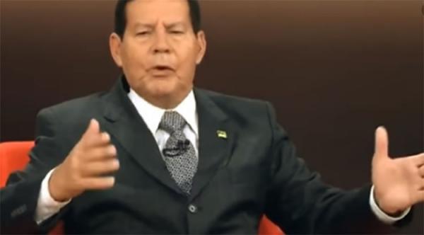 Mourão diz que caso Coaf causa 'incômodo', mas que confia em Bolsonaro e filho