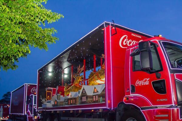 Confira a programação da Caravana de Natal da Coca-Cola em Manaus