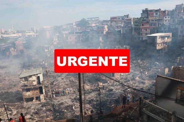 Temer oferece ajuda federal para vítimas de incêndio em Manaus