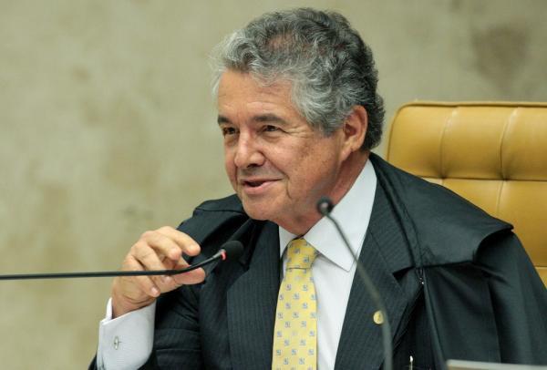 O ministro Marco Aurélio, do STF — Foto: Carlos Moura/SCO/STF