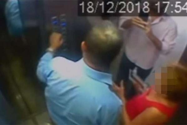 Repórter de afiliada da Globo agride idoso, Veja video
