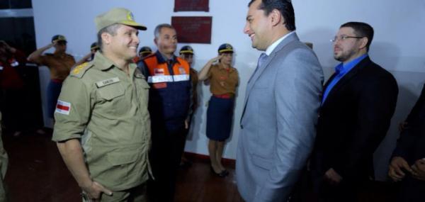 Governador Wilson Lima anuncia ampliação de bases do Corpo de Bombeiro
