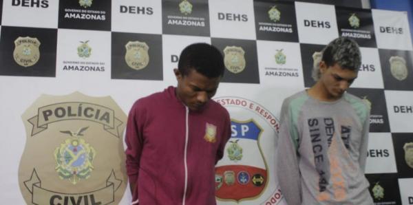 Presos suspeitos de executarem dupla dentro de condomínio em Manaus