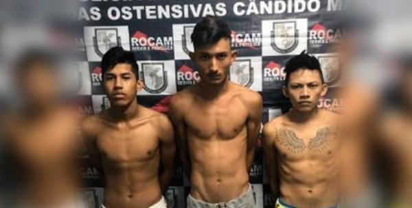 Trio é preso por tráfico de drogas após uma denúncia, em Manaus