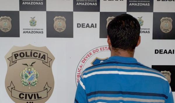 Jovem é apreendido suspeito de estuprar sobrinha de 12 anos em Manaus