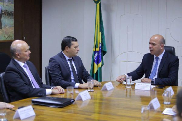 Em Brasília, Wilson defende ampliação da ZFM
