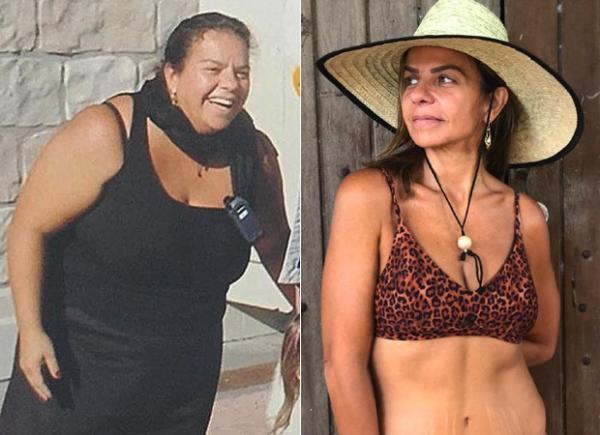 Irmã de Ivete Sangalo mostra como era antes da bariátrica: 'Essa fui eu'