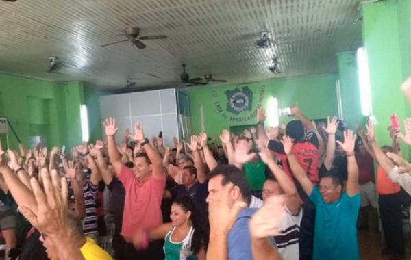 Vigilantes de Manaus decretam greve geral a partir de quinta