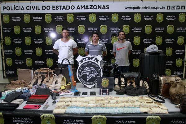 Preso maior ladrão de carros de Manaus, afirma delegado