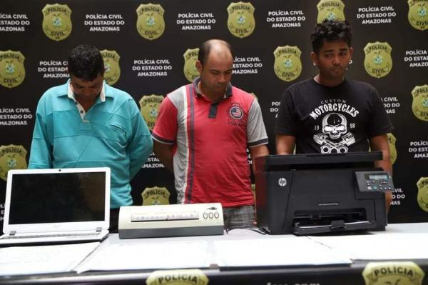 Quadrilha é presa por vender certificados falsos de curso de motorista no Detran-AM