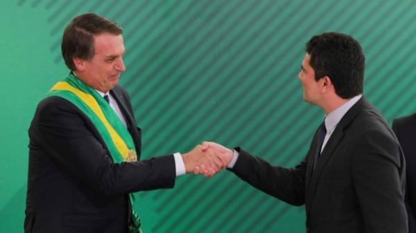 Moro cumpre promessa de campanha de Bolsonaro e bate de frente com crime organizado