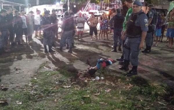 Homem é executado perto da ponte do São Jorge